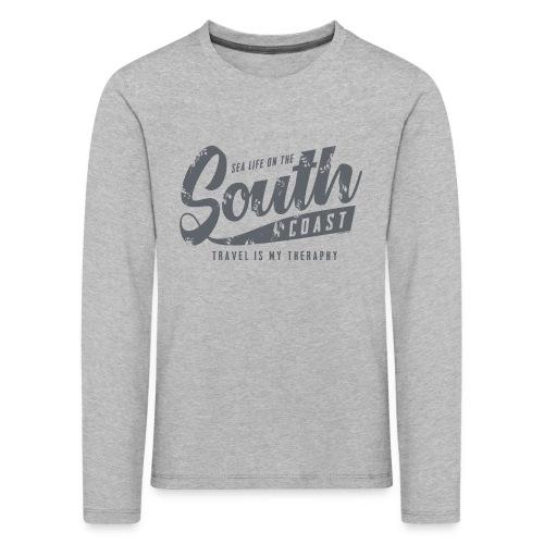 South Coast Sea surf clothes and gifts GP1305B - Lasten premium pitkähihainen t-paita