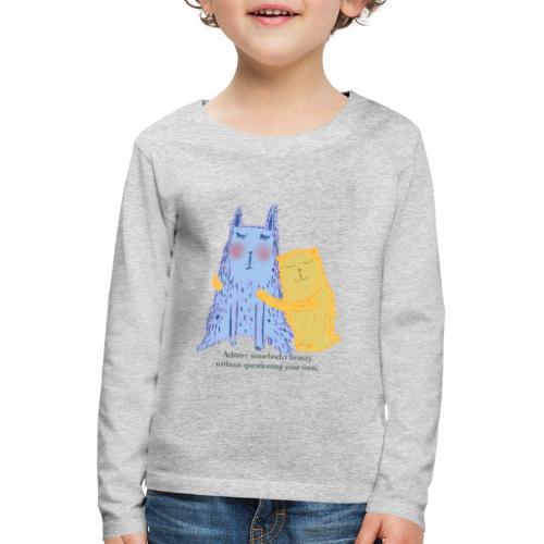 Ihaile toisiaanne - Kids' Premium Longsleeve Shirt