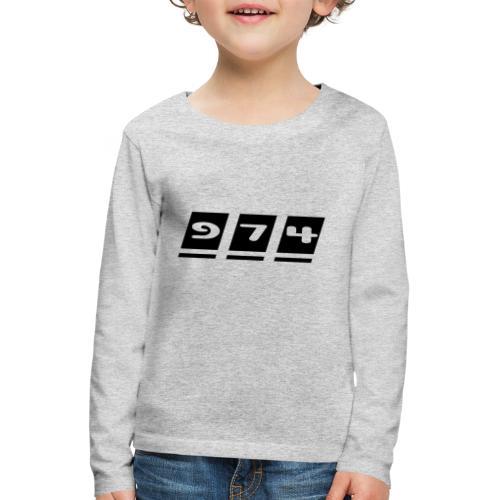 Ecriture 974 - T-shirt manches longues Premium Enfant