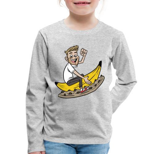 Matinbum På Banankaka - Långärmad premium-T-shirt barn