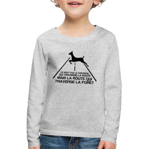 Chevreuil - T-shirt manches longues Premium Enfant