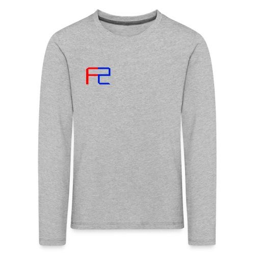 Merch Logo Design - Upper Left - T-Shirt - Kids' Premium Longsleeve Shirt