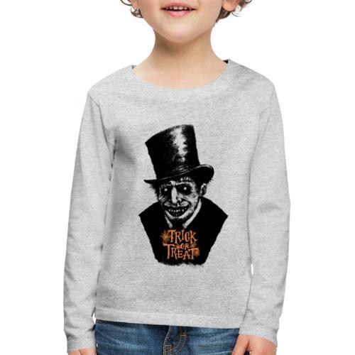 Halloween Death - Kids' Premium Longsleeve Shirt