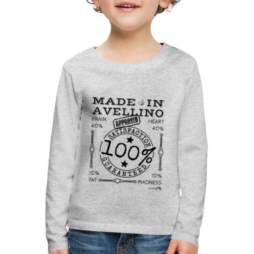 1,02 Prodotto a Avellino - Maglietta Premium a manica lunga per bambini