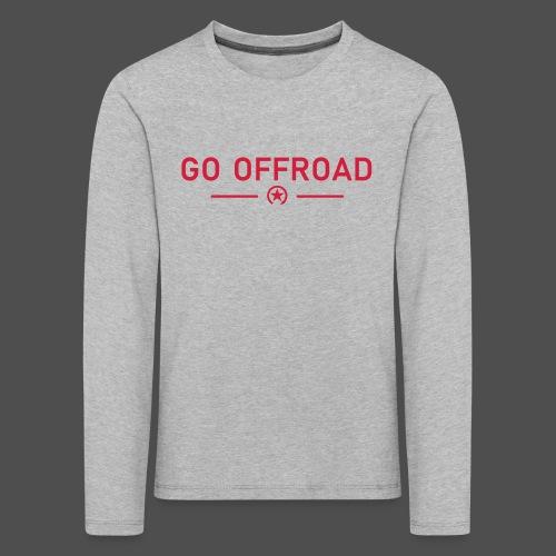 go off-road - Kids' Premium Longsleeve Shirt