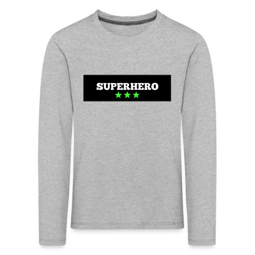 Lätzchen Superhero - Kinder Premium Langarmshirt
