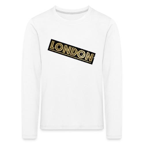 LONDON - Kids' Premium Longsleeve Shirt