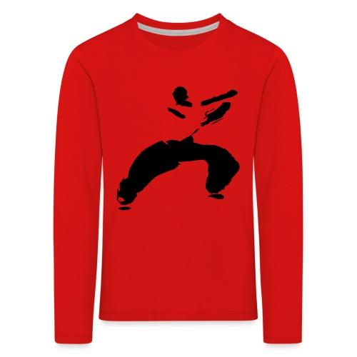 kung fu - Kids' Premium Longsleeve Shirt