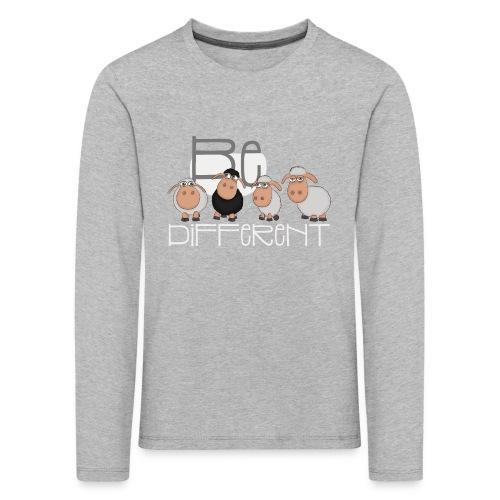 Coole Be different Schafe Gang - Gute Laune Schaf - Kinder Premium Langarmshirt