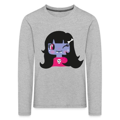 kawaii vampire - Kids' Premium Longsleeve Shirt