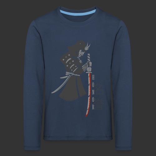 Samurai Digital Print - Kids' Premium Longsleeve Shirt