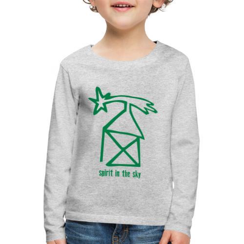 nikolaushaus, spirit in the sky - Kinder Premium Langarmshirt