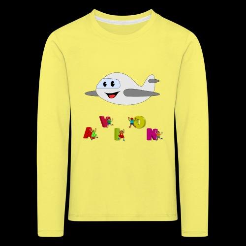 Avion - T-shirt manches longues Premium Enfant