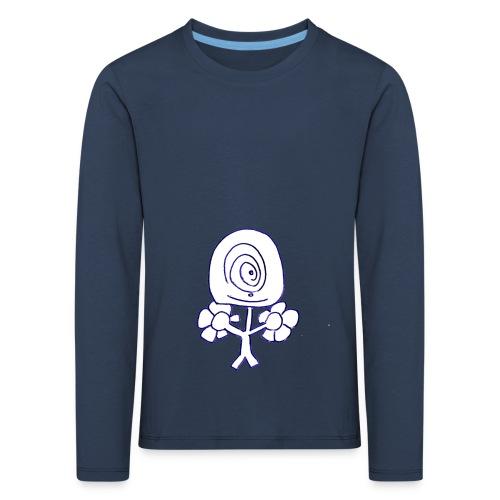 Poppetje 1 oog - Kinderen Premium shirt met lange mouwen