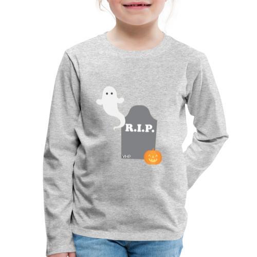 VHP`s Halloween :o - Børne premium T-shirt med lange ærmer