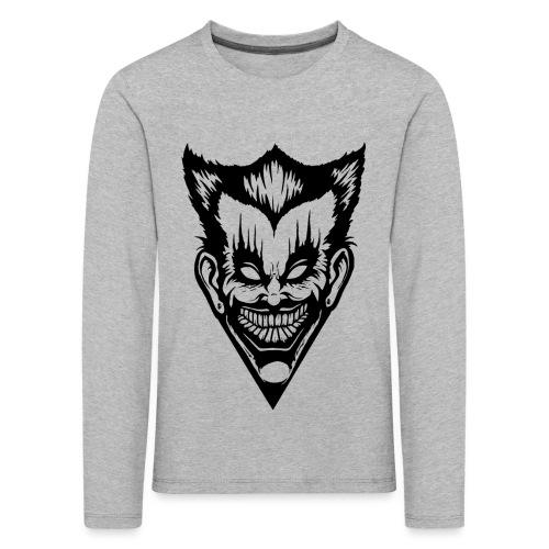 Horror Face - Kinder Premium Langarmshirt