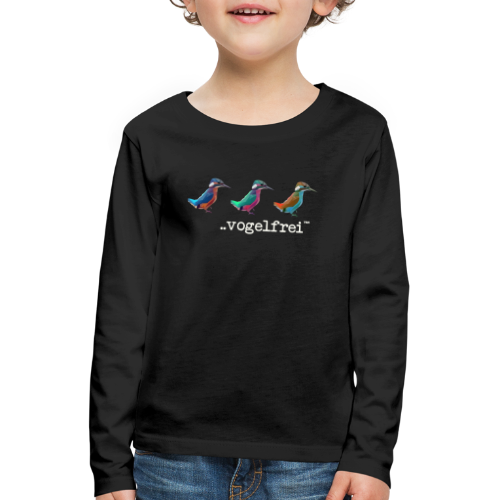 geweihbaer Vogelfrei - Kinder Premium Langarmshirt