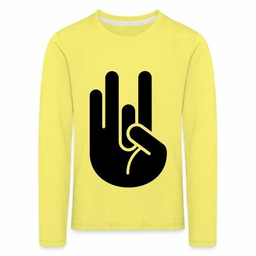 JDM Hand 2_1c - Kids' Premium Longsleeve Shirt