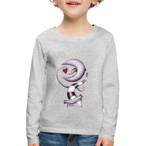 Carnivora Pianta Mangia Amore - Maglietta Premium a manica lunga per bambini