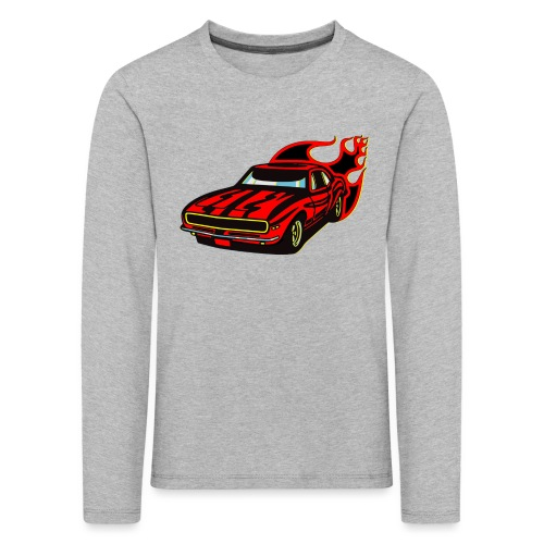 auto fahrzeug rennwagen - Kinder Premium Langarmshirt