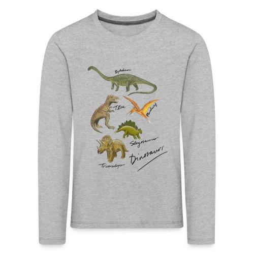Dinosaurs - Kids' Premium Longsleeve Shirt