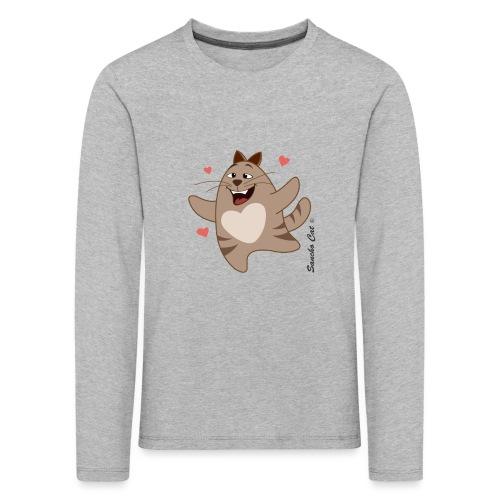Verliebt - Sancho Cat © - Kinder Premium Langarmshirt