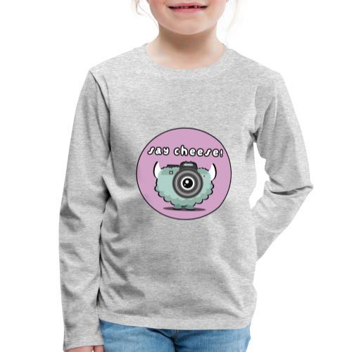 Foton The Monster Camera - Kids' Premium Longsleeve Shirt