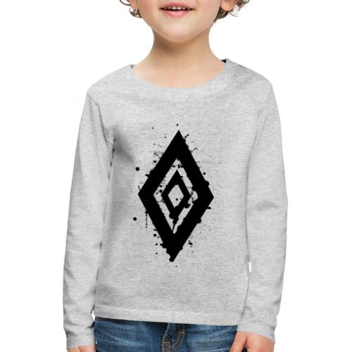 Techno Style - Kinder Premium Langarmshirt