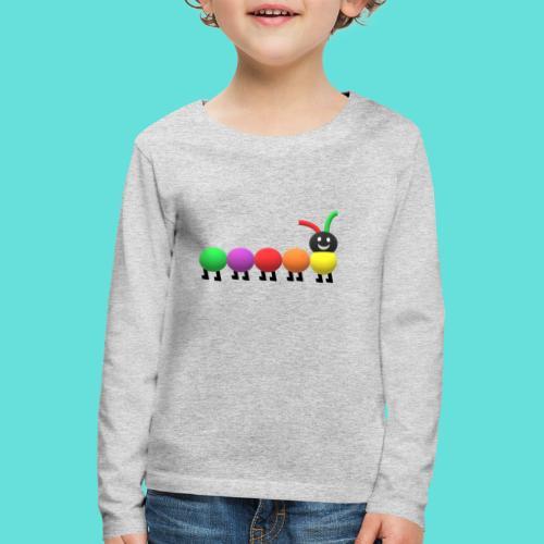Chenille coloré. - T-shirt manches longues Premium Enfant