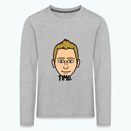 Logo TIMO. - Kinderen Premium shirt met lange mouwen
