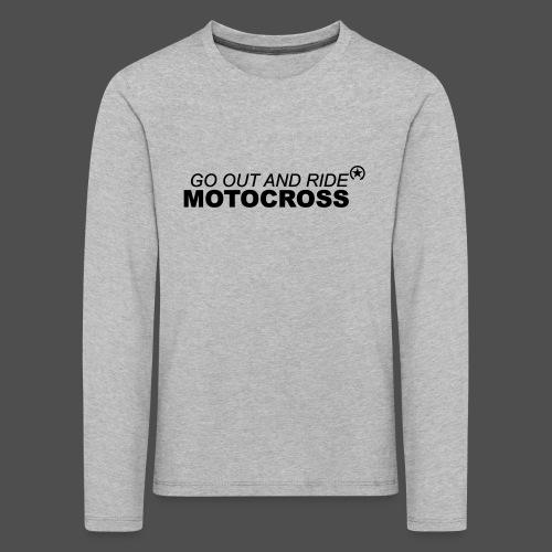ride motocross bk - Kids' Premium Longsleeve Shirt