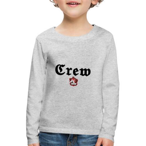 member schwarz - Kinder Premium Langarmshirt