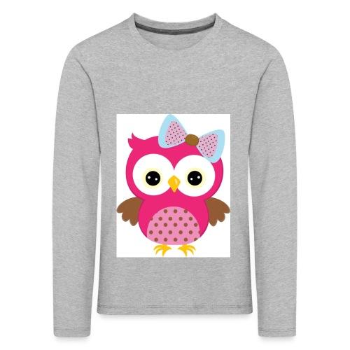 Eulenprints - Kinder Premium Langarmshirt