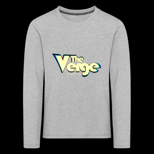The Verge Vin - T-shirt manches longues Premium Enfant