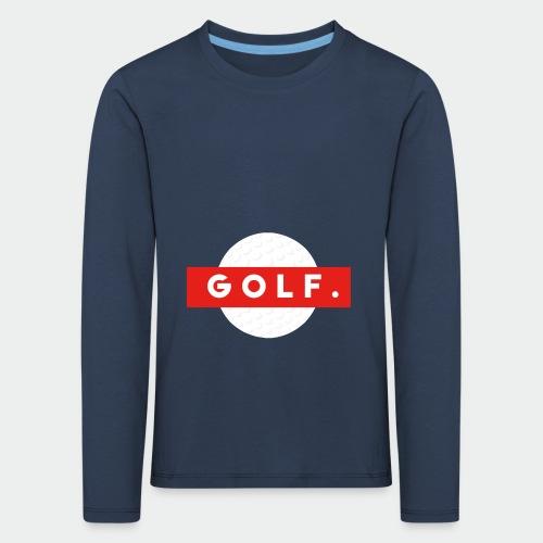 GOLF. - T-shirt manches longues Premium Enfant