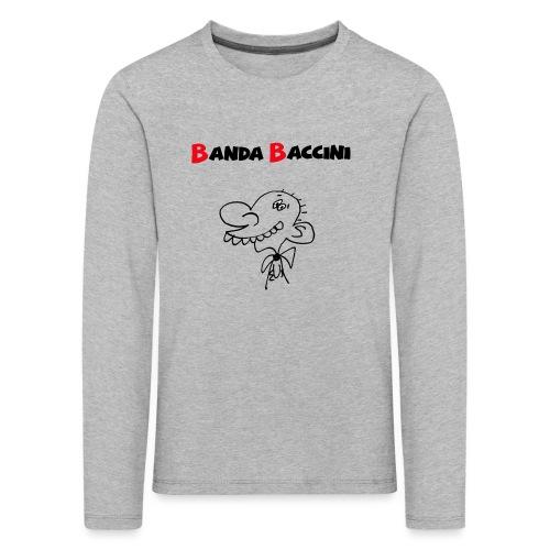 Banda Baccini. - Maglietta Premium a manica lunga per bambini
