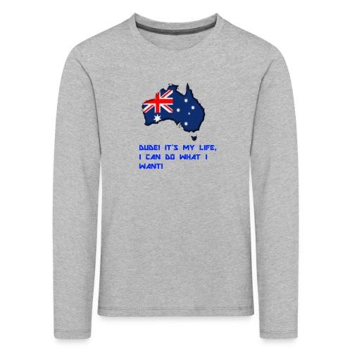 AUSTRALIAN MERCH - Kids' Premium Longsleeve Shirt