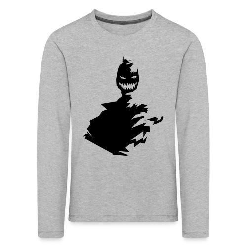 t shirt monster (black/schwarz) - Kinder Premium Langarmshirt