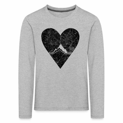 Bergliebe - used / vintage look - Kinder Premium Langarmshirt