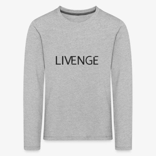 Livenge - Kinderen Premium shirt met lange mouwen
