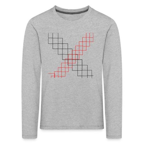 squares - T-shirt manches longues Premium Enfant