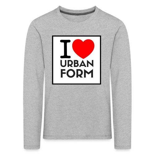 I LOVE URBAN FORM - T-shirt manches longues Premium Enfant