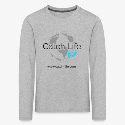 Catch Life Logo - Kids' Premium Longsleeve Shirt