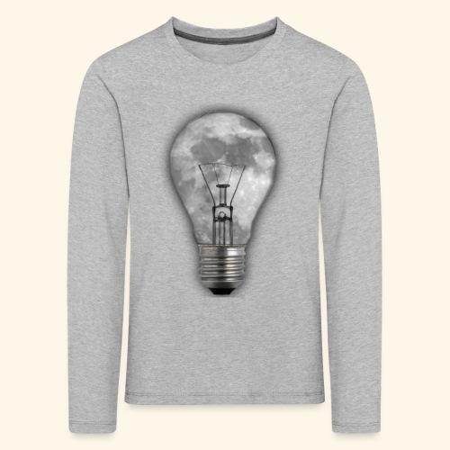 moon bulb - Camiseta de manga larga premium niño