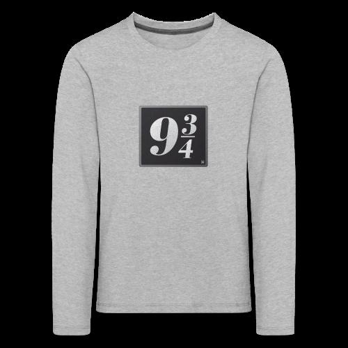 Andén nueve y tres cuartos - Camiseta de manga larga premium niño