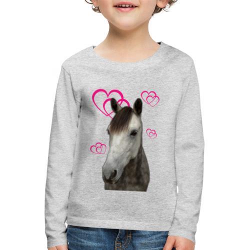 Hästälskare (Pilot) - Långärmad premium-T-shirt barn