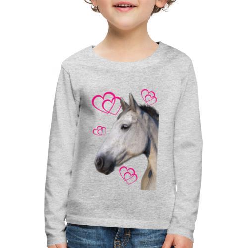 Hästälskare (maya) - Långärmad premium-T-shirt barn
