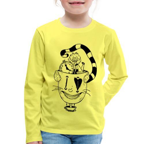 alice in wonderland - Maglietta Premium a manica lunga per bambini