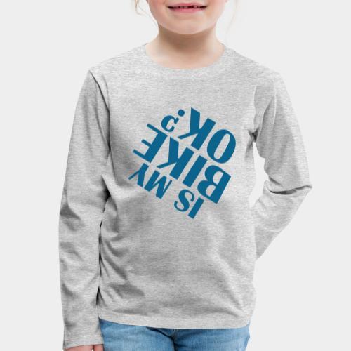 accident de vélo chute - T-shirt manches longues Premium Enfant