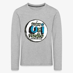 U & I Logo - Kids' Premium Longsleeve Shirt